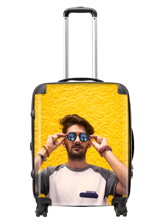Picture of Personalized Large Suitcase